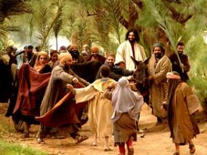 Иисус въезжает в Иерусалим