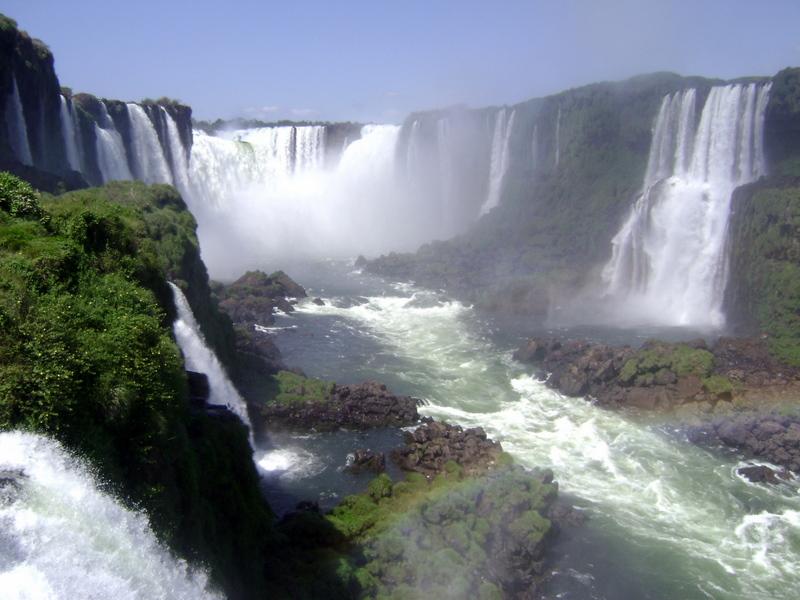 Водопады Игуасу - Аргентина / Бразилия