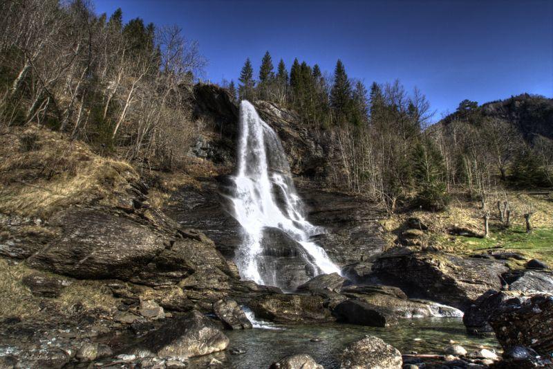 Стайнсдалсфоссен,  Норвегия