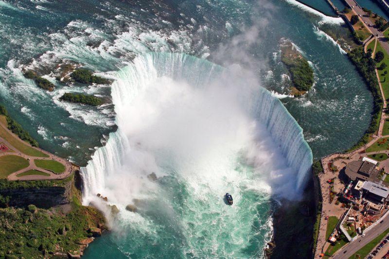 Ниагарский водопад - Канада / США