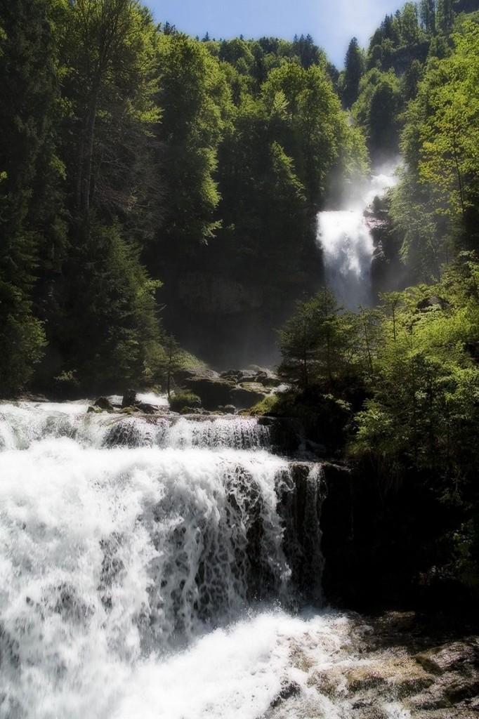 Гиссбахский водопад - Швейцария