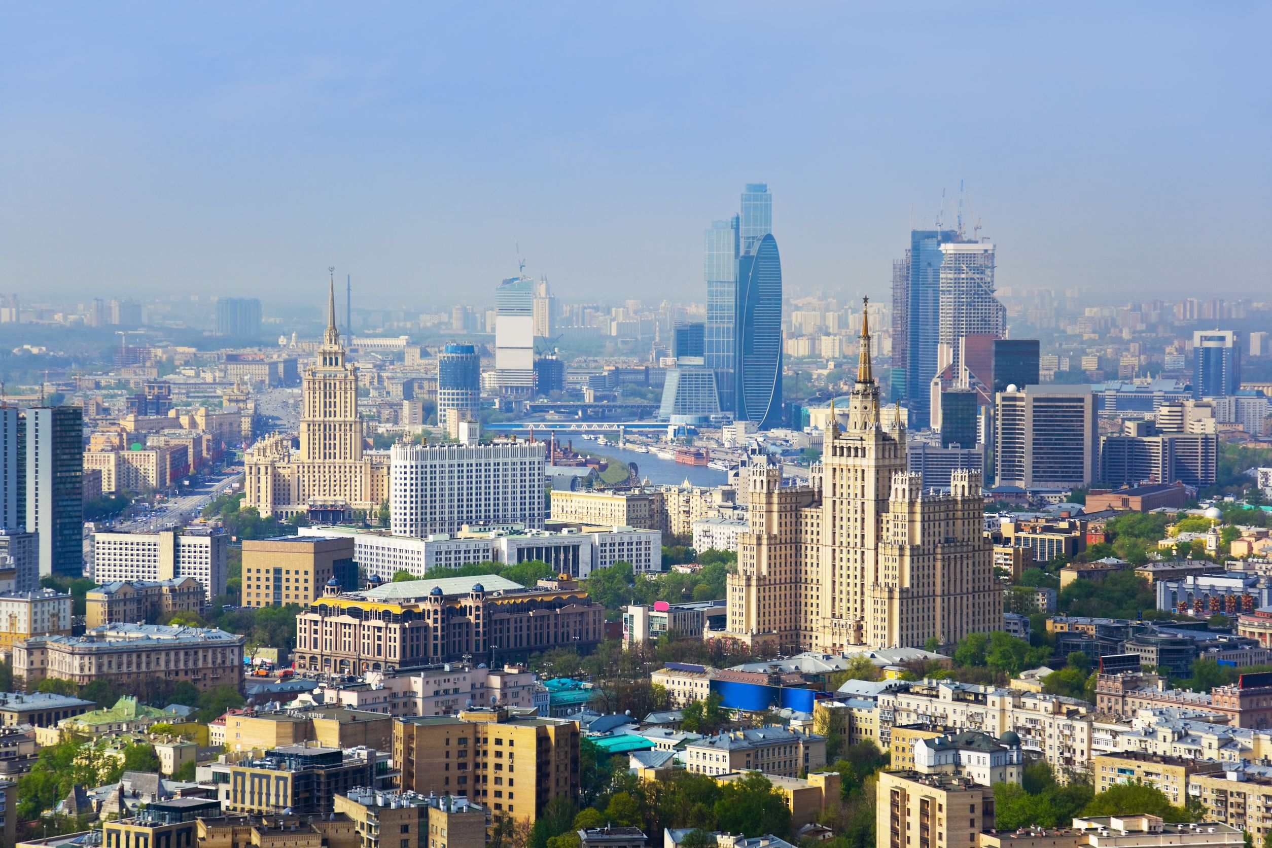 Moscow-city-center-Russia