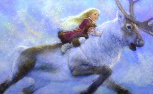 The Snow Queen - Brae and Gerda on their way to Lapland - s5