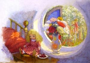 The Snow Queen - Gerda in the Enchanted Garden - s3