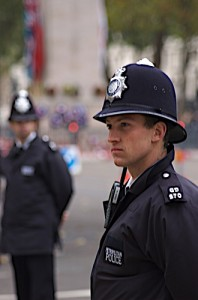 policeman by Steve Punter